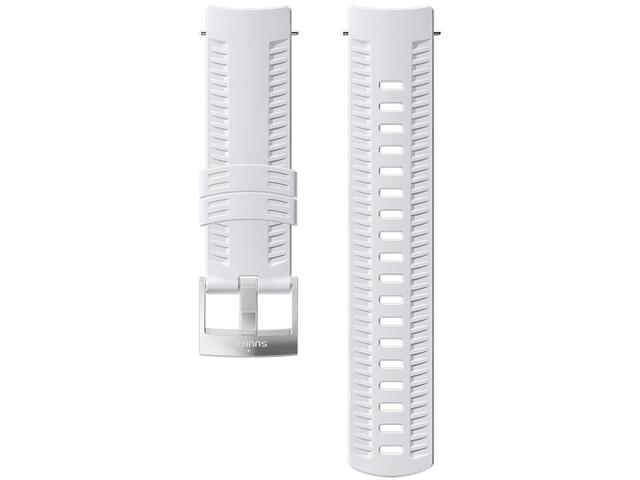 Suunto Athletic 2 Silicone Strap white/steel
